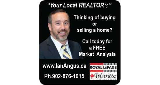 Ian Angus Realtor advertisement